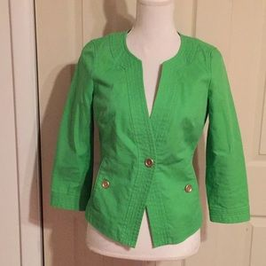 TALBOTS Size 4 Single Button Jacket/Blazer